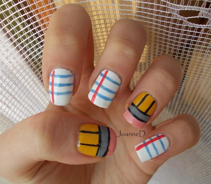 School :) nail art by JoanneD