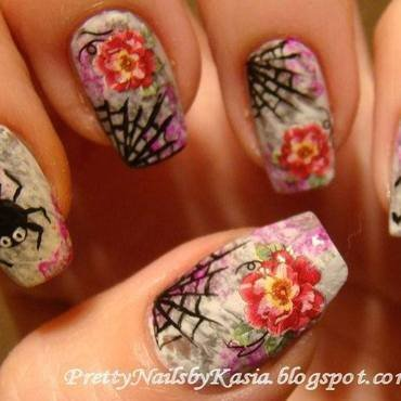 Halloween nail art by Pretty Nails by Kasia
