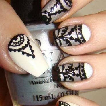 Honor Nails You Love - inspired by Marta Herliczka nail art by Pretty Nails by Kasia