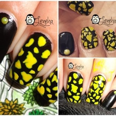 Abstract Nails nail art by Leneha Junsu