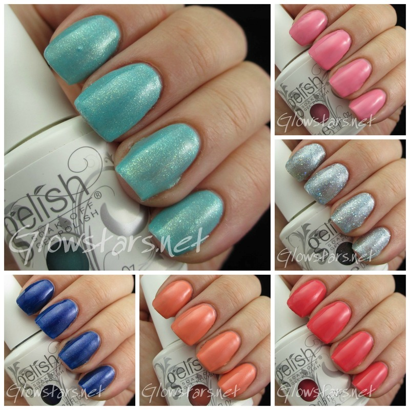 Gelish Cinderella Collection Swatch by Vic 'Glowstars' Pires