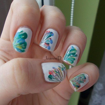Polish folk nail art by JoanneD