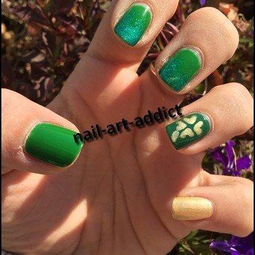 Nail Art : Saint Patrick nail art by SowNails