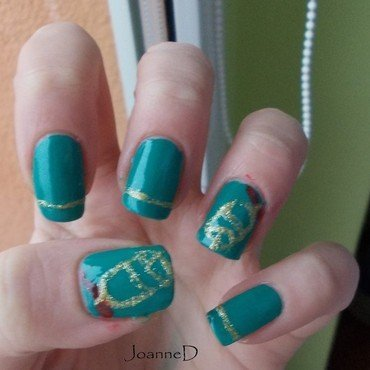 Bells are ringing  nail art by JoanneD