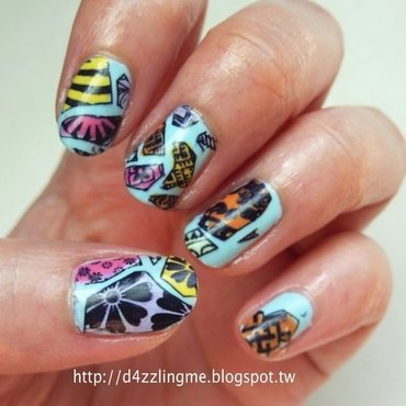 Artist Nails  nail art by D4zzling Me