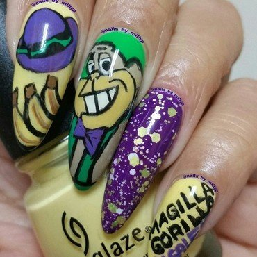 Magilla Gorilla 4 Sale  nail art by Milly Palma