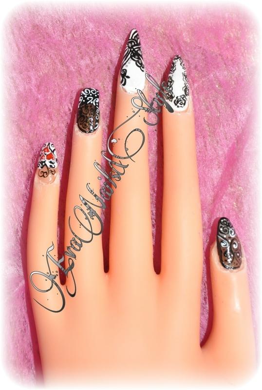 Inspiration nail art by Ewa EvaNails