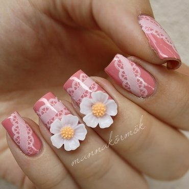 spring nails nail art by Marianna Kovács