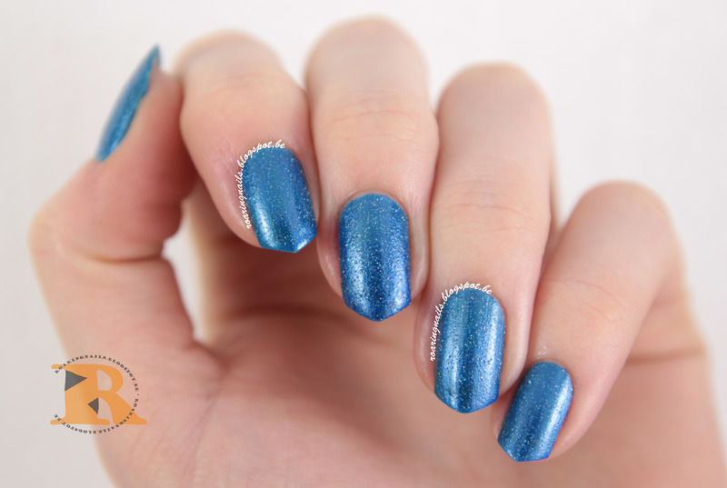 OPI Blue Chips Swatch by Robin