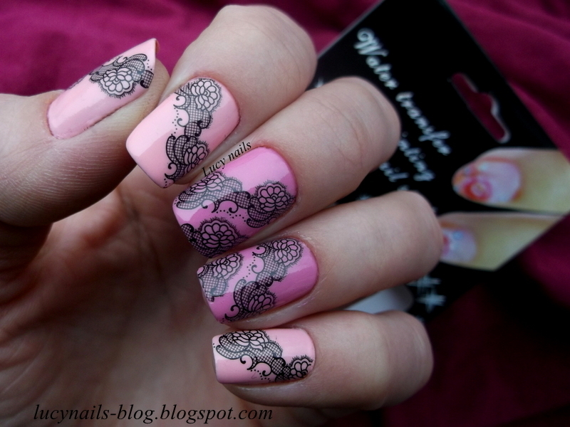 Sweet lace  nail art by Lucynails26