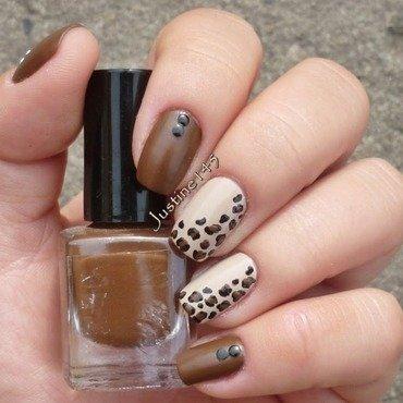 animal print nail art by Justine145