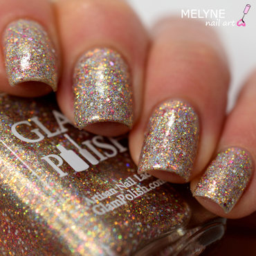 Glam Polish Welcome to the 60s Swatch by melyne nailart