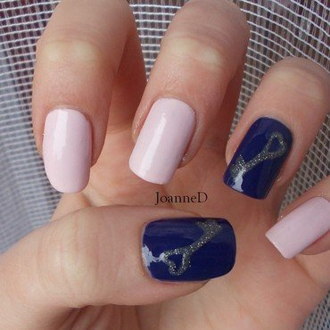 Key nail art by JoanneD