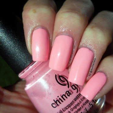 China Glaze Feel the breeze Swatch by Donner