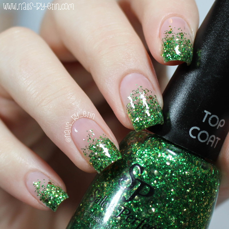 Salon Perfect Luck of the Irish Swatch by Erin
