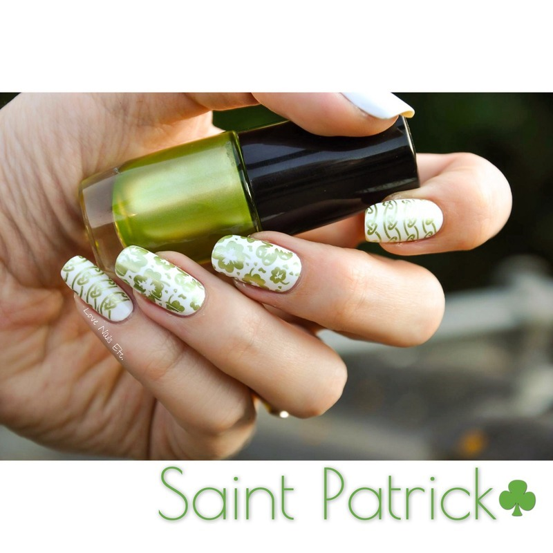 St. Patrick's day nail art by Love Nails Etc