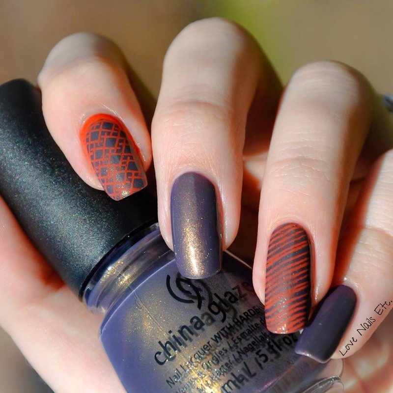 Simple nail art by Love Nails Etc