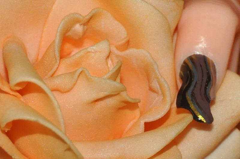 vanguard nail art by Ewa EvaNails
