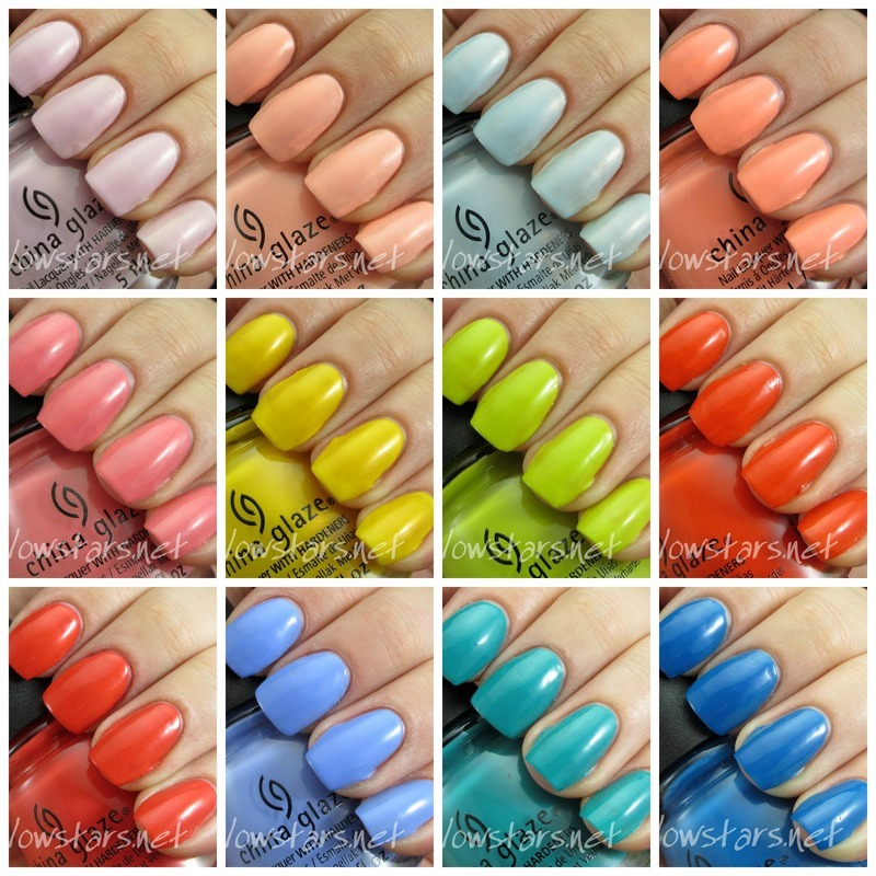 China Glaze road trip collection Swatch by Vic 'Glowstars' Pires