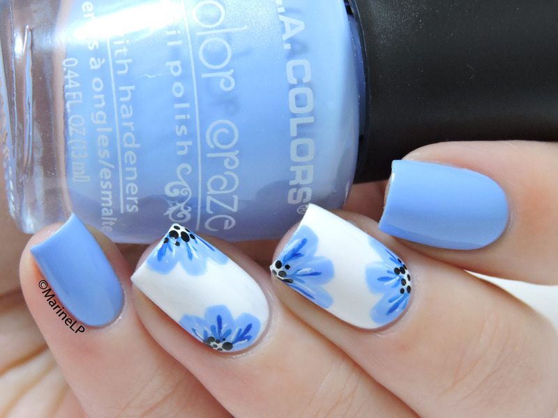 Spring is here! nail art by Marine Loves Polish
