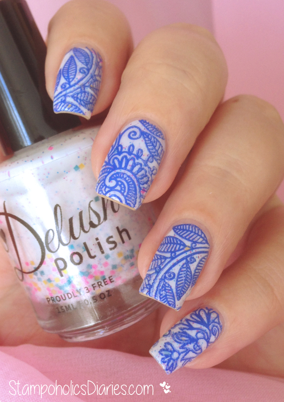 "Delush Polish ""Cirque Fantastique"" nail art by Natasha"
