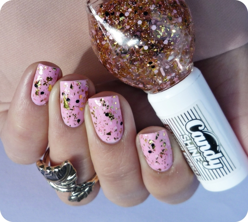 Miss sporty candy shine 003 Pop Rocks and Nubar Oh Baby Pink Swatch by Romana