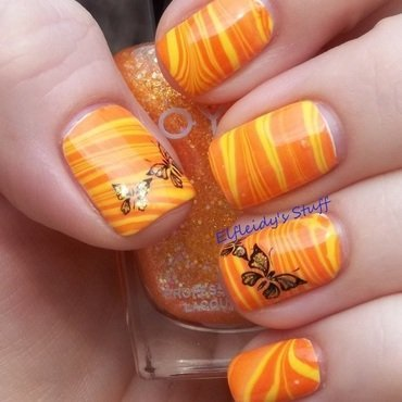Monkey See Monkey Do nail art by Jenette Maitland-Tomblin