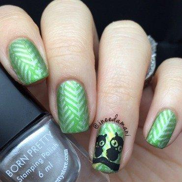 Owls nail art by Carmen Ineedamani