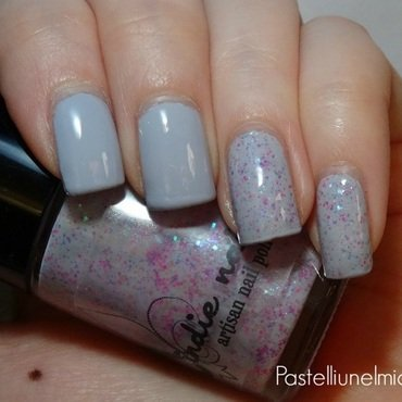 Essie Lilacism and Jindie Nails Princess Bubblegum Swatch by Lumi