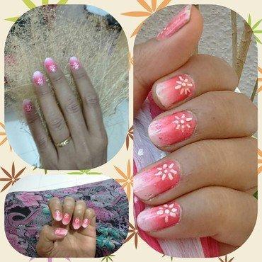 Flower of life nail art by nail nakshi