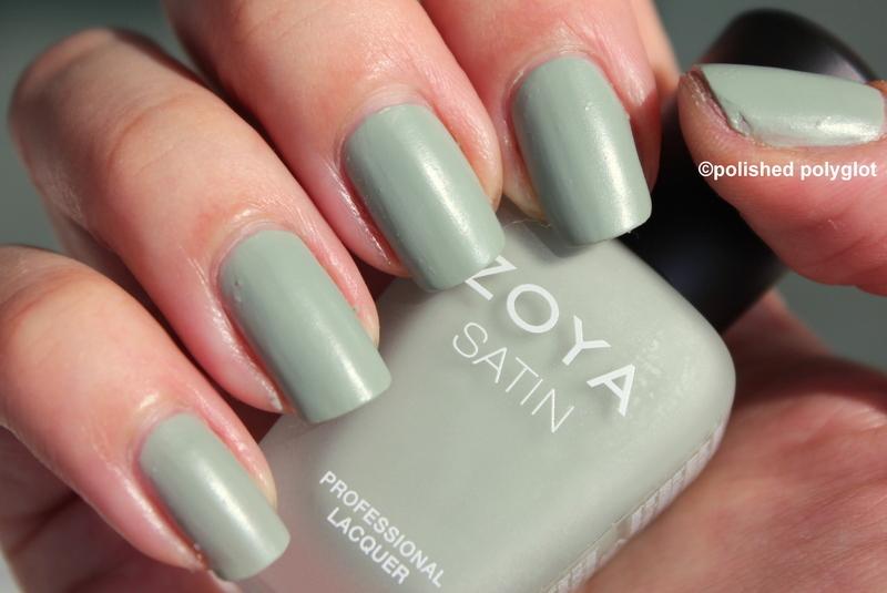 Zoya Sage Swatch by Polished Polyglot