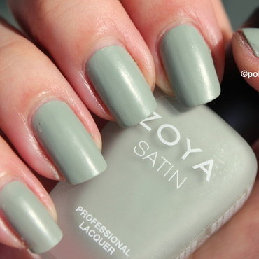 Zoya Sage Swatch by Polished Polyglot
