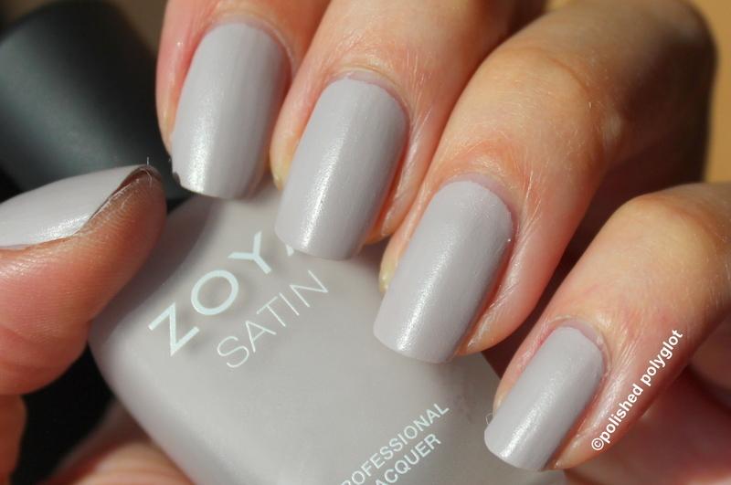 Zoya Leah Swatch by Polished Polyglot
