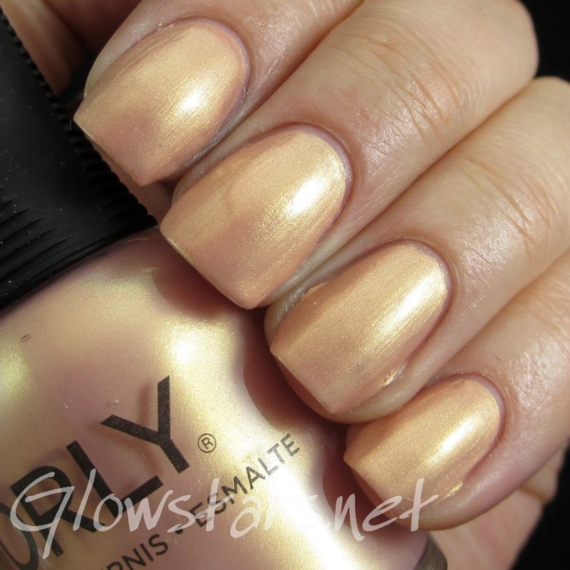 Orly Gilded Coral Swatch by Vic 'Glowstars' Pires