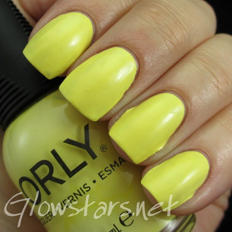 Orly Lemonade Swatch by Vic 'Glowstars' Pires