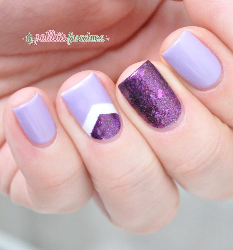 Lavande me tender nail art by nathalie lapaillettefrondeuse