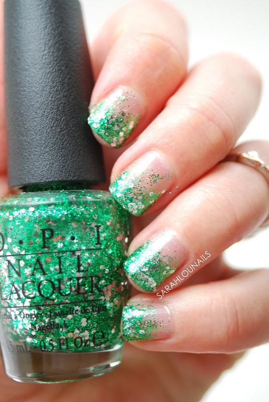Tinkerbell Nails nail art by Sarah S