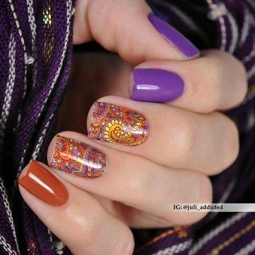 #89 nail art by Juli