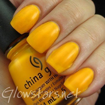 China Glaze Sun worshipper Swatch by Vic 'Glowstars' Pires