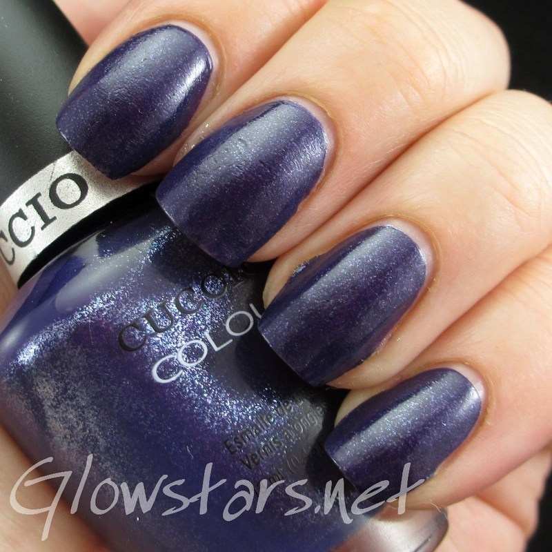 Cuccio Colour Purple Rain In Spain Swatch by Vic 'Glowstars' Pires