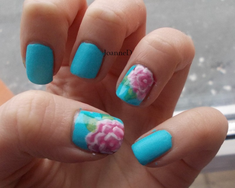 Roses once again :) nail art by JoanneD