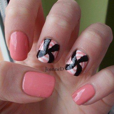 Op art nail art by JoanneD
