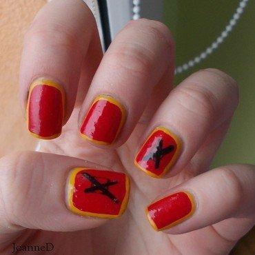 Casual Vacancy nail art by JoanneD