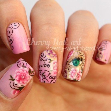 Nail art Too faced nail art by Cherry Nail art