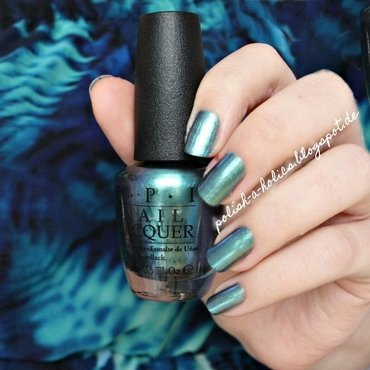 OPI This Color's Making Waves Swatch by katharinapeskelidou