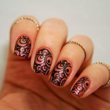 Illusion nail art by Jane