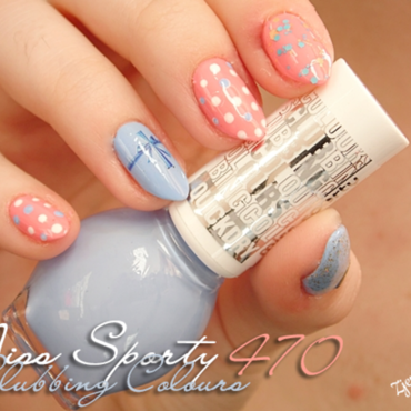 Cute nail art nail art by SheLazy