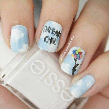 Dream On nail art by katharinapeskelidou