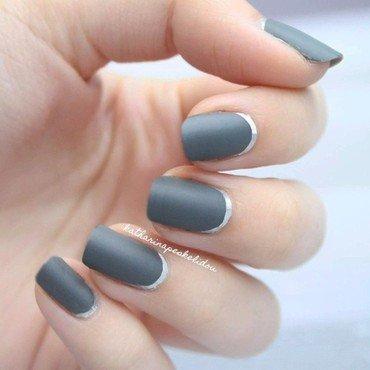 Silver Ruffian nail art by katharinapeskelidou