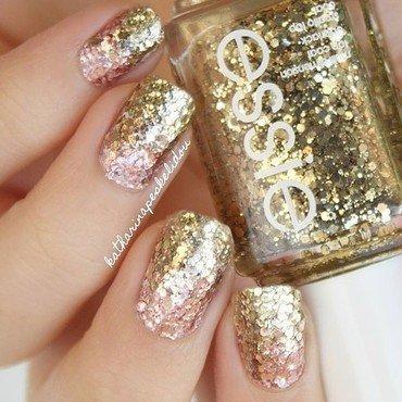 Glitter Bomb Gradient  nail art by katharinapeskelidou